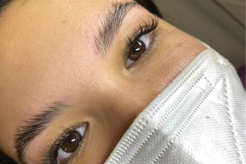Brow Lamination Divine Lashes Florida